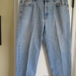 Jeans Heavy Stone Washed Look